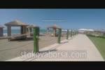 дървена ограда за плаж