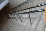 производство на алуминиеви парапети за стълби