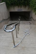 изработка на парапети за стълби от алуминии
