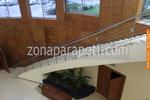 изработка на парапети за стълби от алуминии по поръчка