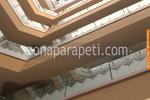 изработка на парапети от инокс и стъкло с декорирана рисунка
