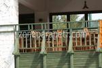 дъбови дървени парапети за тераси