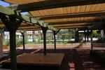 изработка и монтаж на дървени навесни конструкции с платнище